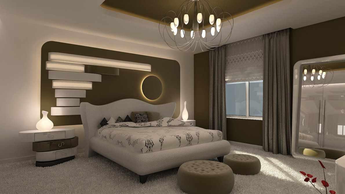 بالصور ديكورات غرف نوم 2019 , تصميمات حديثة ورائعة لغرف النوم 777 6