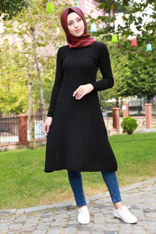 بالصور بلوزات محجبات , كوليكشن بلوزات تليق مع الحجاب 876 4
