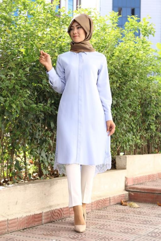 بالصور بلوزات محجبات , كوليكشن بلوزات تليق مع الحجاب 876 5