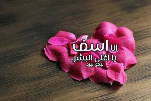 بالصور رسالة اعتذار للحبيب الزعلان , مسجات صلح لكل حبيب 859