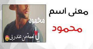 صور صفات اسم محمود , صفات حامل اسم محمود