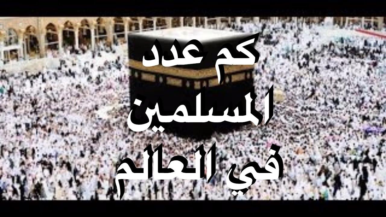 صورة كم عدد المسلمين في العالم , عدد المسلمين في العالم واين تكون النسبه الاكبر