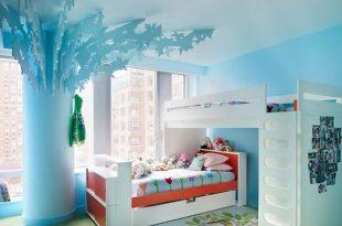 صورة ديكورات غرف اطفال, رقة رومانسية جمال وشباب ايضا في هذه التصاميم
