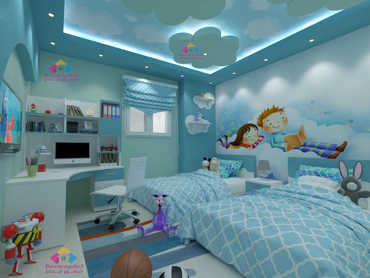 صورة ديكورات غرف اطفال, رقة رومانسية جمال وشباب ايضا في هذه التصاميم 723 2
