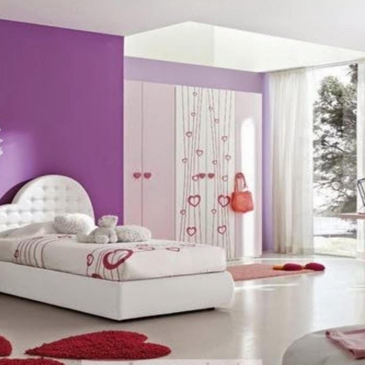 صورة ديكورات غرف اطفال, رقة رومانسية جمال وشباب ايضا في هذه التصاميم 723 3
