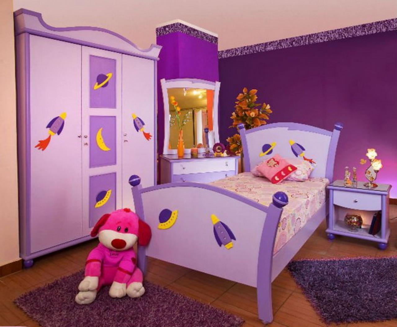 صورة ديكورات غرف اطفال, رقة رومانسية جمال وشباب ايضا في هذه التصاميم 723 5