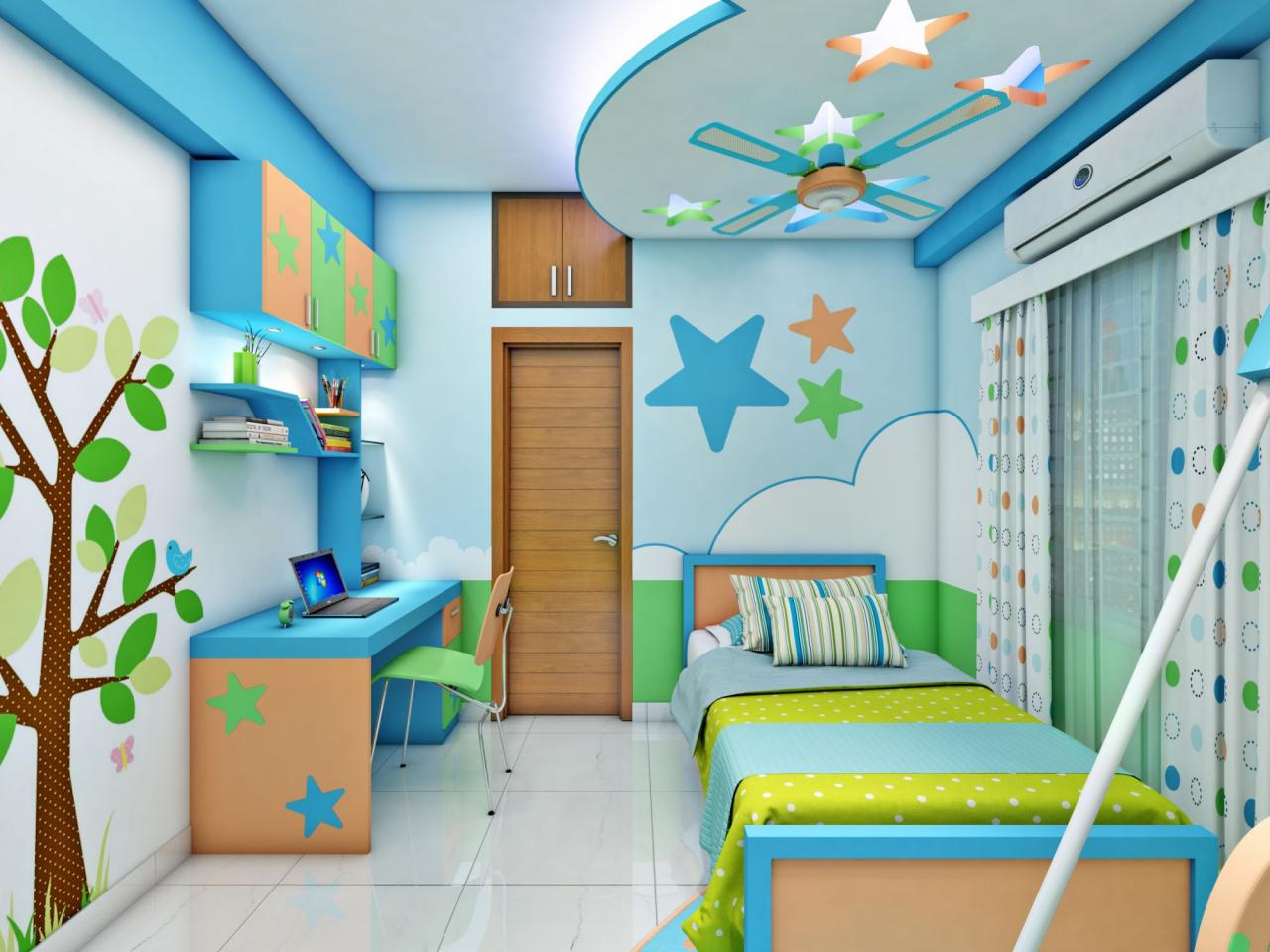 صورة ديكورات غرف اطفال, رقة رومانسية جمال وشباب ايضا في هذه التصاميم 723 7