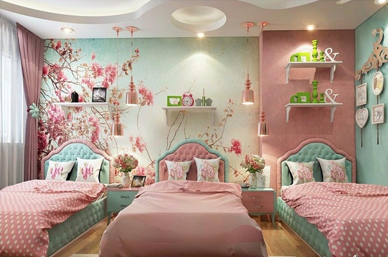 صورة ديكورات غرف اطفال, رقة رومانسية جمال وشباب ايضا في هذه التصاميم 723 8