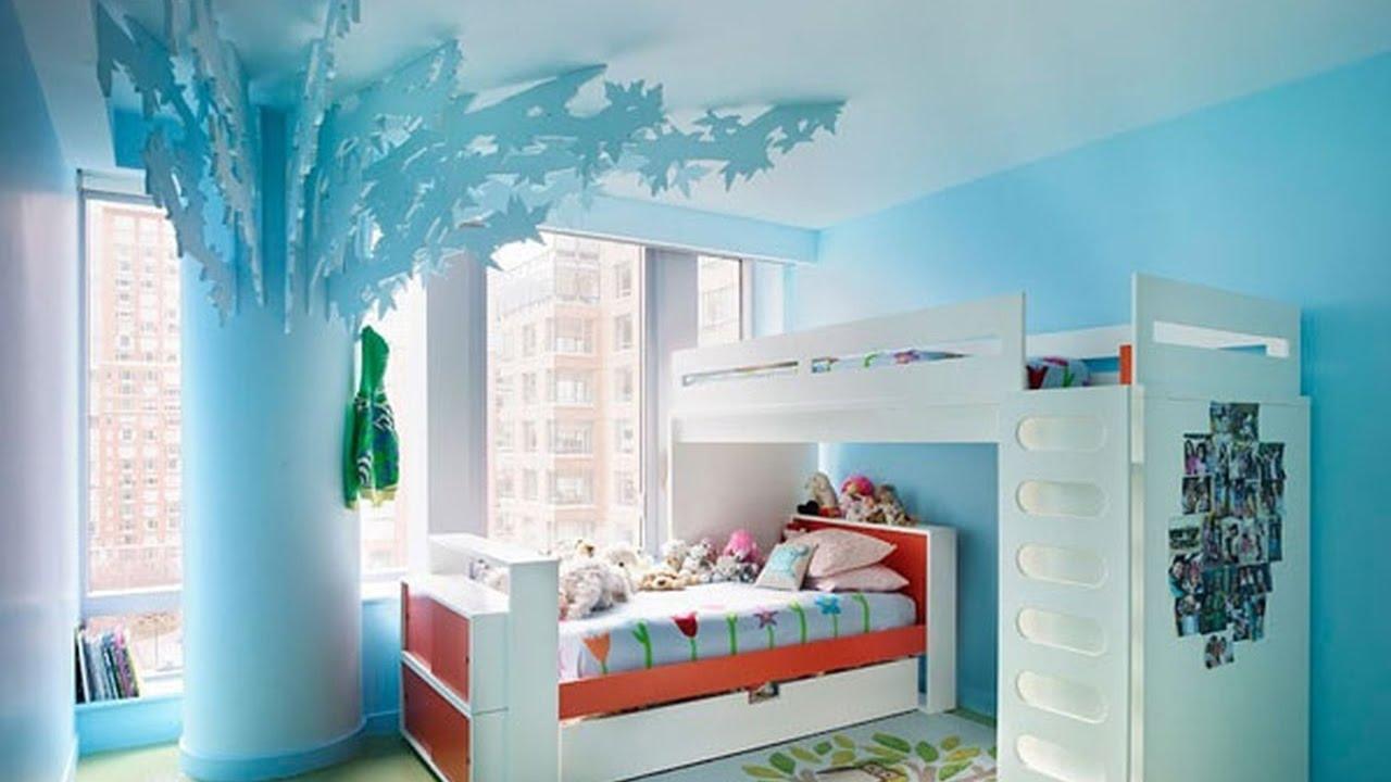 صورة ديكورات غرف اطفال, رقة رومانسية جمال وشباب ايضا في هذه التصاميم 723