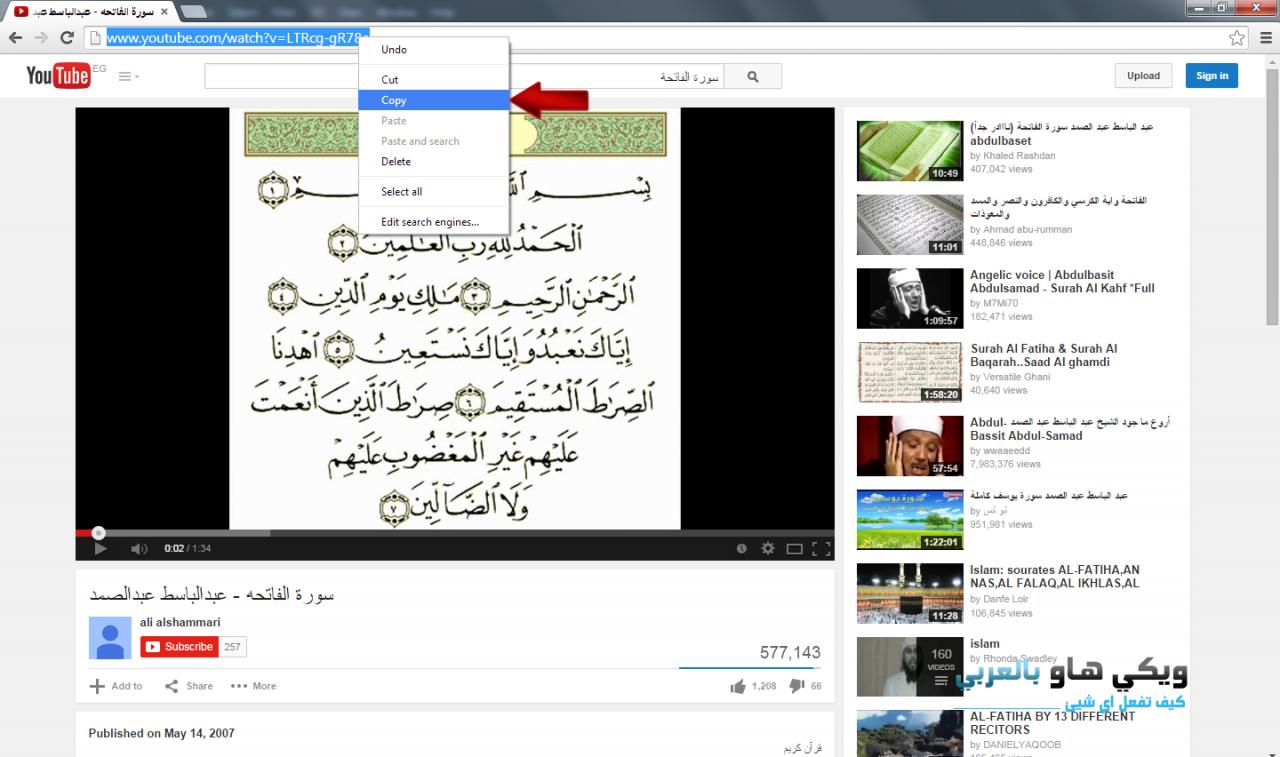 صورة كيف احمل من اليوتيوب, خطوات سهلة عشان تنزل من على اشهر موقع الانترنت