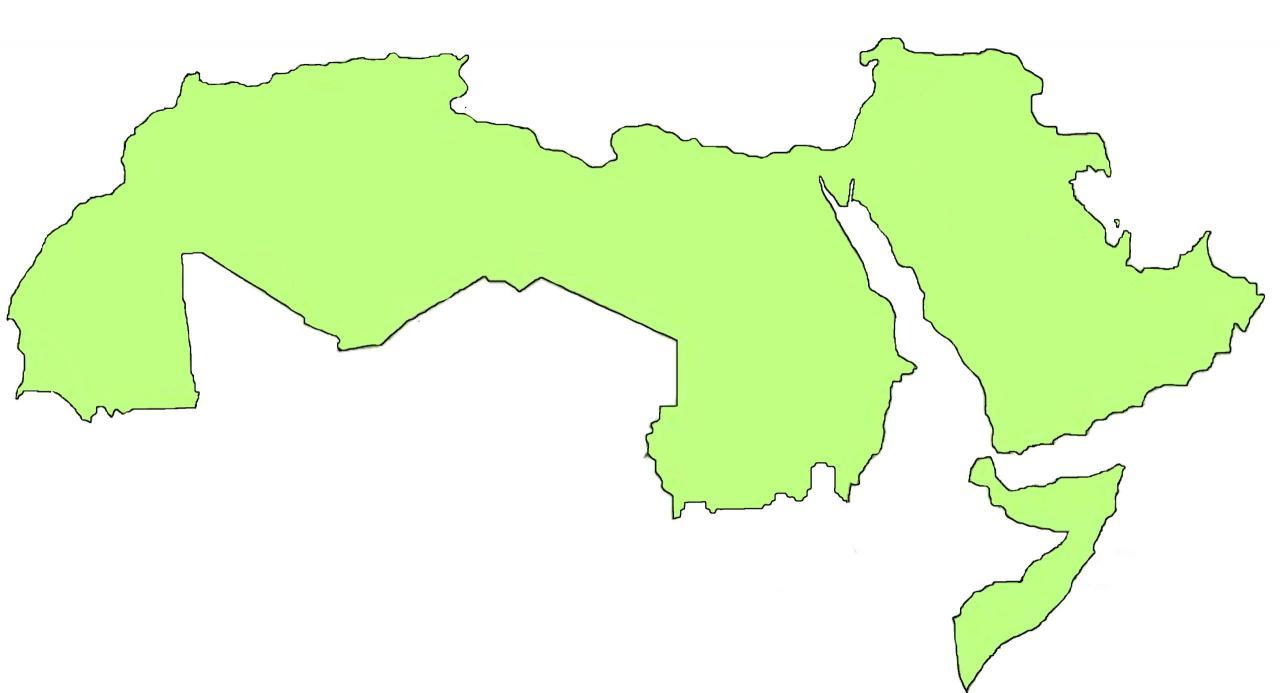 صورة خريطة العالم صماء 5680